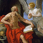 Angel Appearing to St. Jerome, Guido Reni