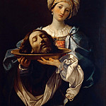 Salome with the head of St. John, the Baptist, Guido Reni