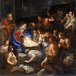 Adoration of the Shepherds, Guido Reni