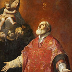 The Vision of Saint Philip Neri, Guido Reni