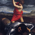 Guido Reni - David and Goliath