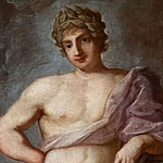 Apollo with laurel wreath, Guido Reni