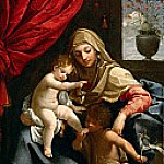 Guido Reni - The Virgin with the Christ Child and Saint John the Baptist