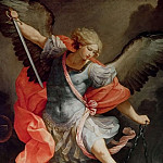 The Archangel Michael defeating Satan, Guido Reni