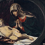 Salvator Rosa - The Virgin and the Sleeping Child [After]