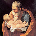 St Giuseppe and the Christ Child, Guido Reni