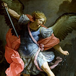 Archangel Michael fighting with Satan, Guido Reni