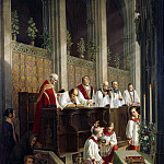 Karl Friedrich Lessing - Catholic worship