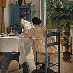 Abraham Schopfer - At Breakfast