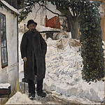Abraham Schopfer - At the Old House