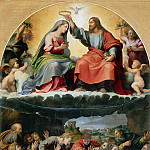 Biagio d'Antonio Tucci - Crowning of the Virgin (Madonna of Monteluce)