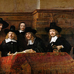 Rembrandt Harmenszoon Van Rijn - The Syndics