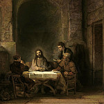 Supper at Emmaus, Rembrandt Harmenszoon Van Rijn