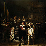 Rembrandt Harmenszoon Van Rijn - The Company of Frans Banning Cocq and Willem van Ruytenburch known as the «Night Watch»