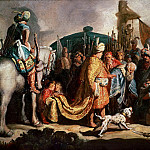 David with the Head of Goliath before Saul, Rembrandt Harmenszoon Van Rijn