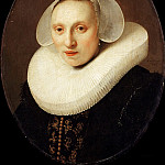 Rembrandt Harmenszoon Van Rijn - Cornelia Pronck, Wife of Albert Cuyper (after)