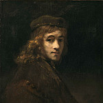 Rembrandt Harmenszoon Van Rijn - Portrait of Titus, the Artists Son (attr)