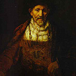 Rembrandt Harmenszoon Van Rijn - Portrait of an Old Man (attr)