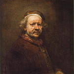 Self Portrait at the Age of 63, Rembrandt Harmenszoon Van Rijn
