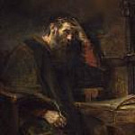 The Apostle Paul, Rembrandt Harmenszoon Van Rijn