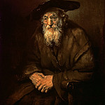 Portrait of an Old Jew, Rembrandt Harmenszoon Van Rijn