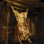 Rembrandt Harmenszoon Van Rijn - The Slaughtered Ox