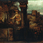 Christs conversation with the Samaritan woman , Rembrandt Harmenszoon Van Rijn