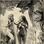 Rembrandt Harmenszoon Van Rijn - Adam and Eve