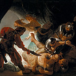Rembrandt Harmenszoon Van Rijn - The Blinding of Samson