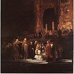 The Woman taken in Adultery, Rembrandt Harmenszoon Van Rijn