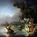 Rembrandt Harmenszoon Van Rijn - The Abduction of Europa