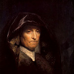 Rembrandt Harmenszoon Van Rijn - Portrait of the Artists Mother