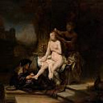Rembrandt Harmenszoon Van Rijn - The Toilet of Bathsheba (attr)