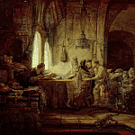 Rembrandt Harmenszoon Van Rijn - The Parable of the Laborers in the Vineyard