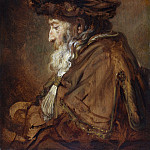 Rembrandt Harmenszoon Van Rijn - Portrait of an Old Man (Rabbi) [attr.]