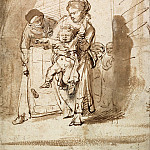 The Unruly child, Rembrandt Harmenszoon Van Rijn