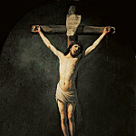 Christ on the cross, Rembrandt Harmenszoon Van Rijn