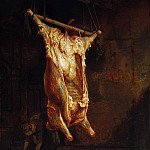 Rembrandt Harmenszoon Van Rijn - The Slaughtered Ox (attr.)