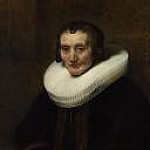 Rembrandt Harmenszoon Van Rijn - Portrait of Margaretha de Geer, Wife of Jacob Trip (1)