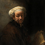 Rembrandt Harmenszoon Van Rijn - Self-Portrait as St. Paul