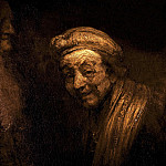 Rembrandt Harmenszoon Van Rijn - Self-portrait as Zeuxis Laughing