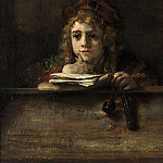 Titus at his Desk, Rembrandt Harmenszoon Van Rijn