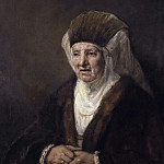 Portrait of an Old Woman, Rembrandt Harmenszoon Van Rijn