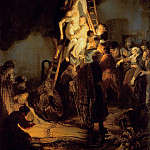 Rembrandt Harmenszoon Van Rijn - Descent from the Cross (attr)