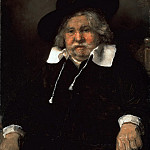 Rembrandt Harmenszoon Van Rijn - Portrait of an elderly man