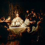 Rembrandt Harmenszoon Van Rijn - The Wedding of Samson