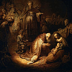 Rembrandt Harmenszoon Van Rijn - Adoration of the Magi