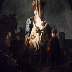 Rembrandt Harmenszoon Van Rijn - The Descent from the Cross