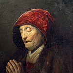 Rembrandts mother praying, Rembrandt Harmenszoon Van Rijn