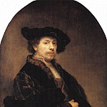 Rembrandt Harmenszoon Van Rijn - Self Portrait at the Age of 34